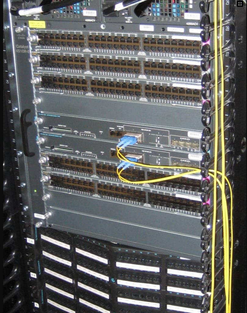 Network-switch-installation