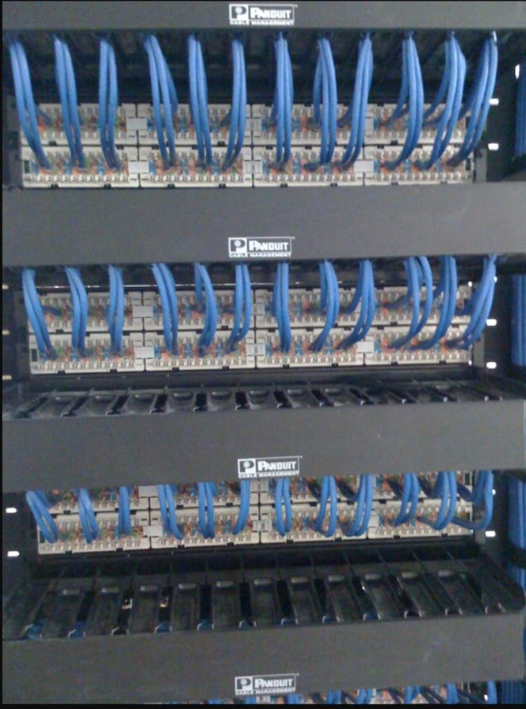 Patch-panel-terminations-multiple