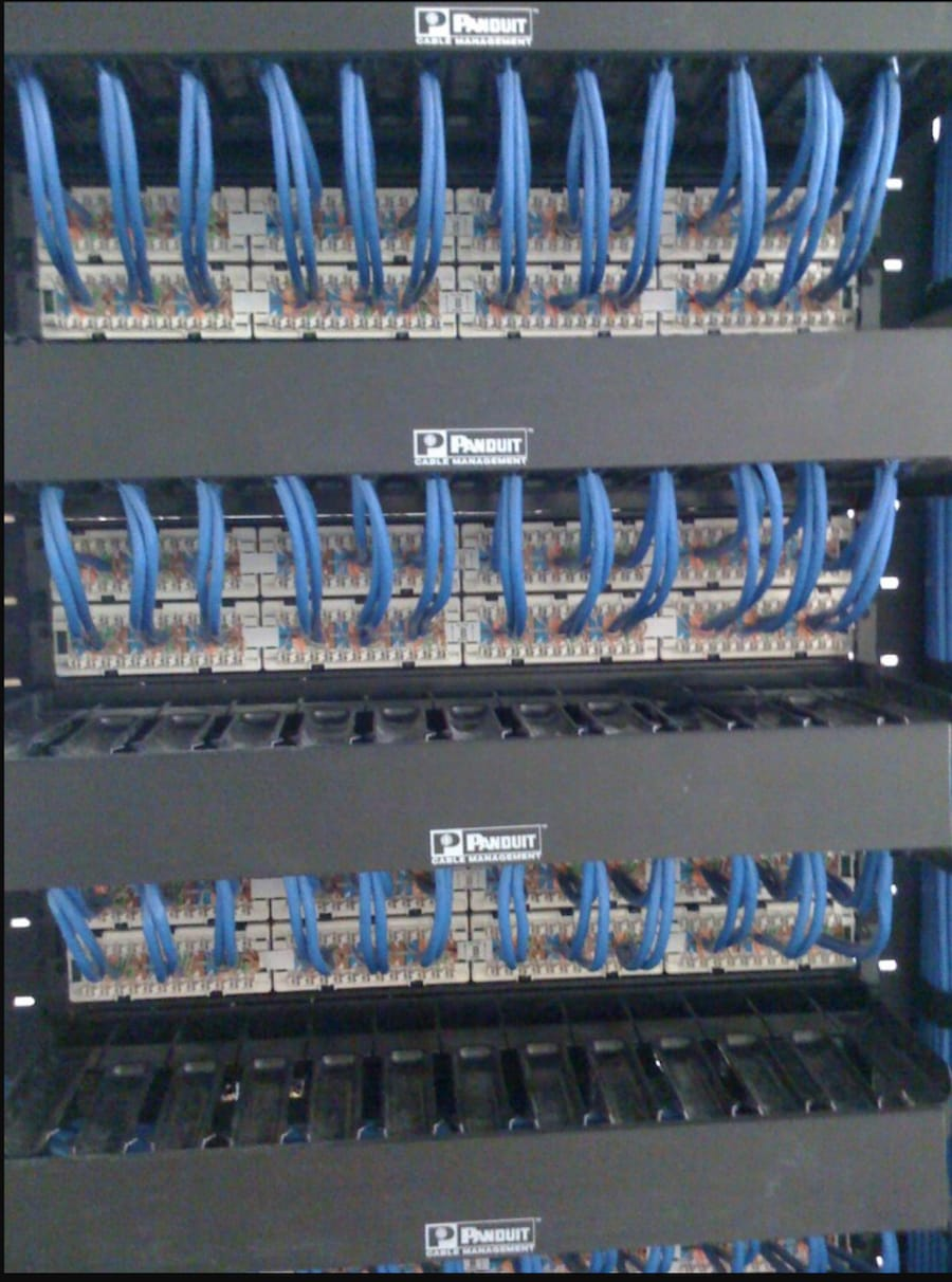 Structured Cabling Audax Communication Innovation For Future Wiring Panel Wall Patch Terminations Multiple